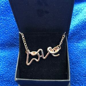 Jewelry - Gorgeous LOVE Necklace